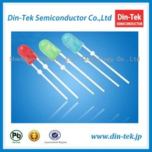 High cost-effictive LED dip diode 546 oval 5mm