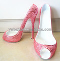 Rhinestone high heel Wine rack