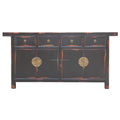 asian furniture Chinese antique buffet wooden oriental sideboard