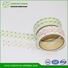 Wholesale Decorative Gift Packing 10mmx20m Dot Washi Paper Tape
