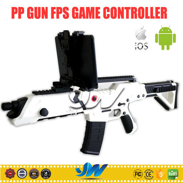 Hot sale amazing PP gun mini bluetooth game controller for IOS Andriod PC