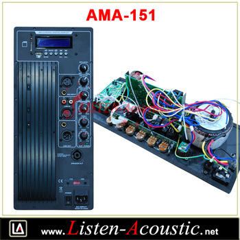 300 Watts Amplifier Modules with USD SD Player AMA-151