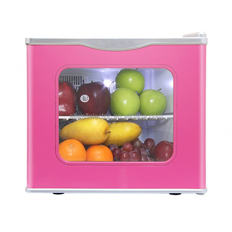 Made in china low noise smartness table top mini fridge