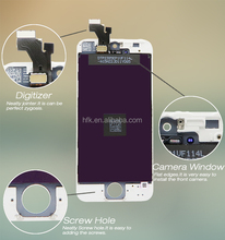 Brand New Complete assembly LCD +Touch Screen Digitizer + Front Glass LCD Display With Frame for iPhone 5