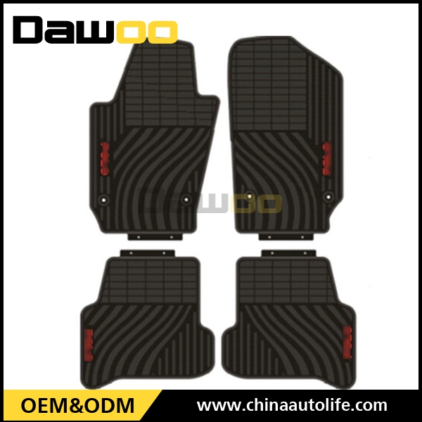 used for volkswagen polo accessories car floor mat wholesale