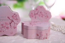 Hot Sale Pink Cheery Candy Tin Box Wholesale