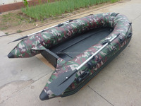 Small fiberglass hull rib fiberglass pedal boat speed sport boat RIB-330 for sale!!!