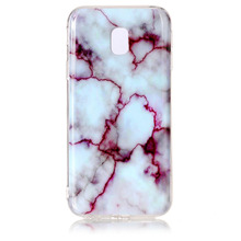 Accept small order 2018 custom printed TPU Clear Marble back cover mobile phone case for samsung j3 2017