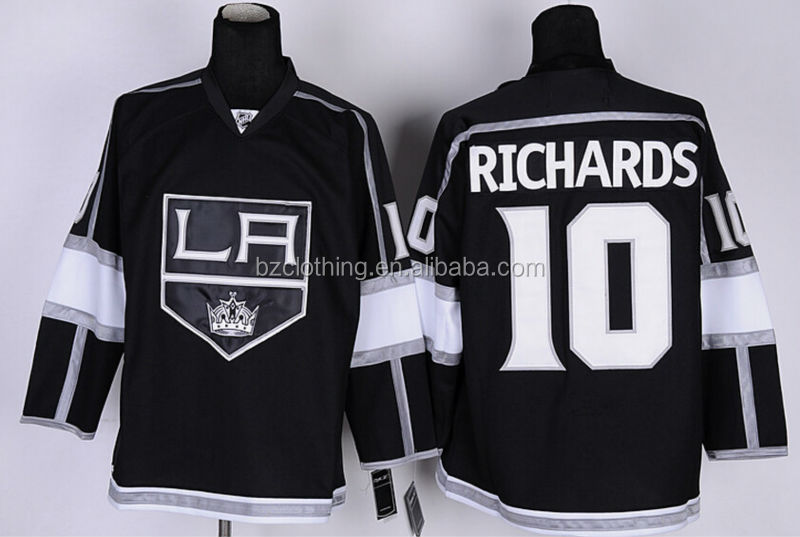 Los Angeles Kings #10 Mike Richards Ice Hockey Jersey