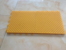 plastic floor tile