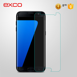 EXCO Guangzhou Manufacturer Factory price 0.2mm Full Screen Cover 9H Hardness tempered for Samsung S7