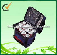 multiple bottles insulated wine trolley cooler bag