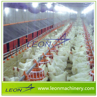 LEON fully automatic poultry layer farming equipment for poultry house/livestock/chicken farm