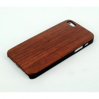 Cheap Price Raw Wood+PC Case Protective Cover for iPhone 5/5S, Hybrid Hard PC & Nature Wood Case for iPhone 5S