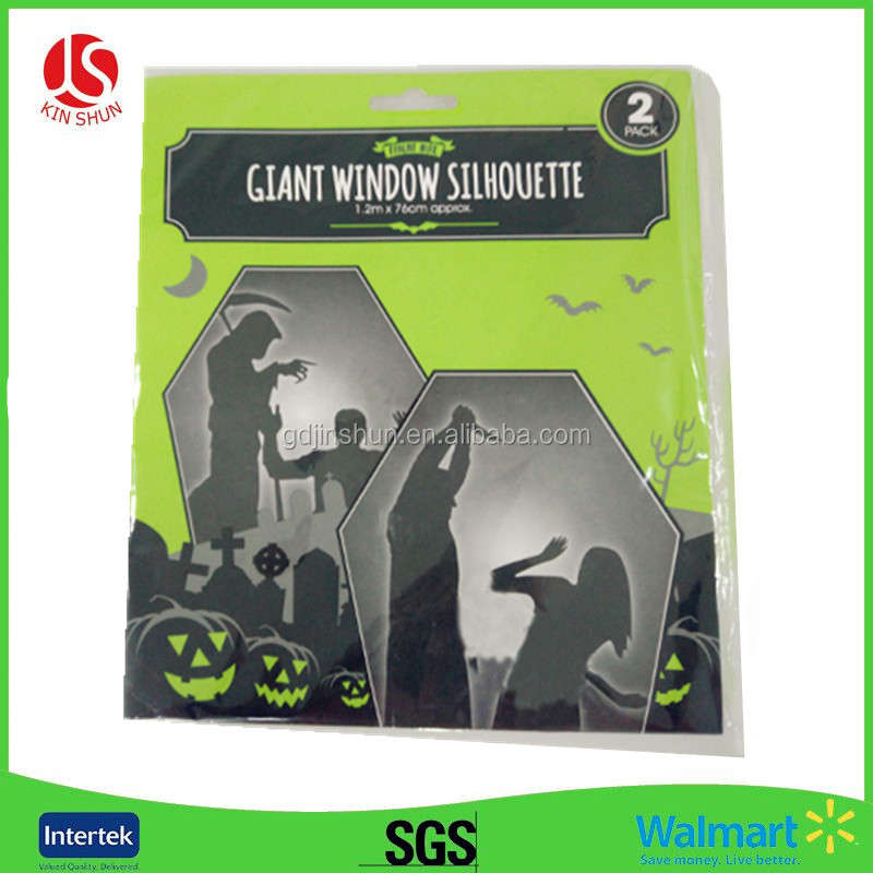 eco party favors decoration Plastic halloween plastic door covering