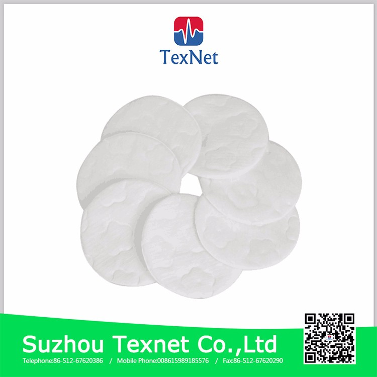 CE approved Cosmetic square cotton pad cotton facial pads