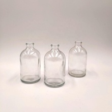 100ml Moulded glass bottle with 20mm mouth diameter