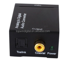 Digital to analog audio converter Coaxial or Toslink Digital Audio Signals to Analog converter