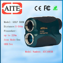 800m 6*24 Green Color Aite Laser Rangefinder with pinseeking and scan model