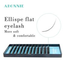 0.15 0.20 ellips <strong>flat</strong> lash private label eyelash extension 100% matte