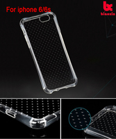 2016 trending products Fashion1.2mm dotted buffer silicone TPU soft cell phone cover for apple iPhone6/6S