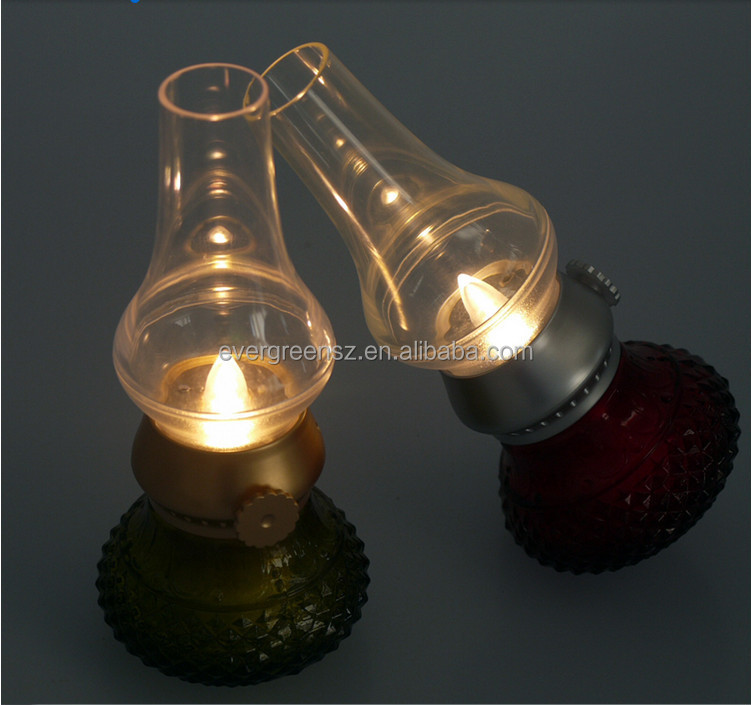 Fantastic Blow Off night light Vintage Blow Led Lamp with USB rechargeable blow led camping light for your cellphone