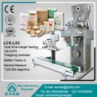 weight packing machine for maize flour movable