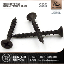 China black anodized aluminum screw truss head drywall screw