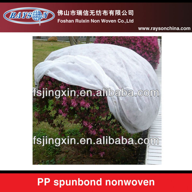 15-40gsm white nonwoven agriculture clothing