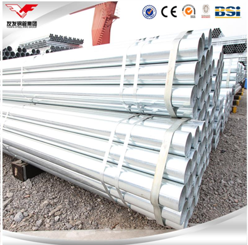 Diameter 0.5 inch to 10 inches corrugated galvanized steel culvert pipe with great price