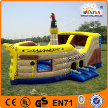 Children Lovely Most Popular Outdoor Inflatable Pirate Ship