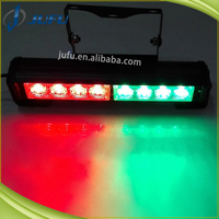 12V red blue green amber white car accessory Auto Light single Row super thin Led lighting deck dash strobe light