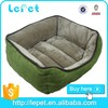 Wholesale pet products low price soft cozy rectangle cheap pet bed for dogs