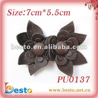 PU0137 Hot Selling Handmade Brown Synthetic