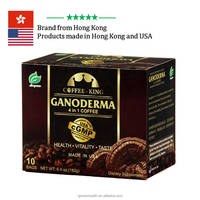 Made in USA cGMP reishi mushroom 2 in 1 4 in 1 instant coffee