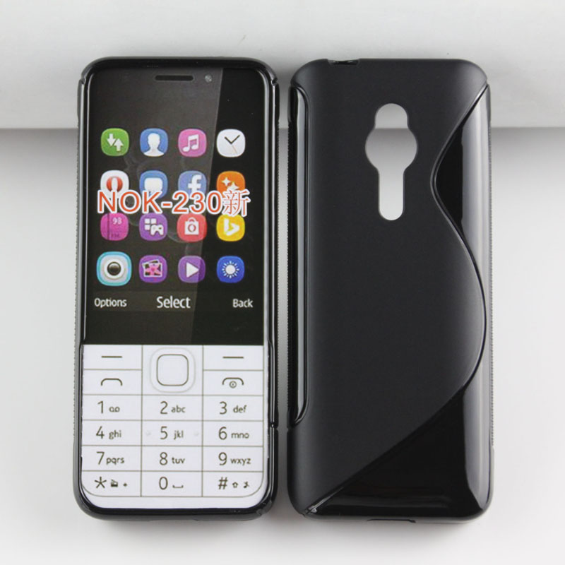 Case for Nokia NOK-230 , New S Line Soft TPU back Cover Case for Nokia NOK-230
