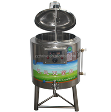 cheap price stainless steel small milk pasteurization tank/50 liters uht milk pasteurizer/150l dairy pasteurizer for sale
