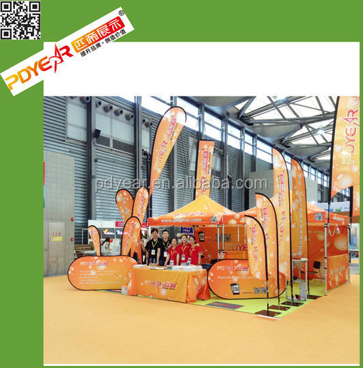 Factory wholesale trade show advertising custom table cloths