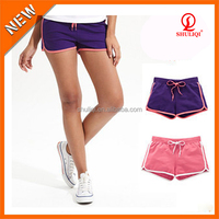 Hot sexy girls short pants custom logo & barbd name & pattern