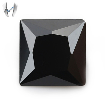 High Quality Wholesale Gems Synthetic Black Cubic Zirconia
