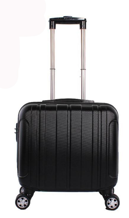 16 inch hard trolley luggage small travel business ABS trolley case