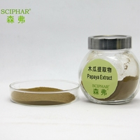 Papaya seed extract with high papain/Pharmaceutical and food grade/Light yellow powder