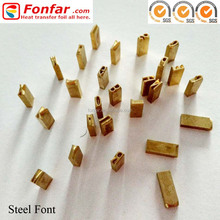 High Quality Hot Stamping Numbers and Lettters Fonts for Hot Stamping Machine HP30 / HP241B / HP241Q / HP241