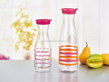 BPA free plastic juice pitcher,2016 fashion design pitcher