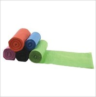 custom printed plastic garbage bags on roll