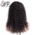 Best Wholesale Price Eurasian Curly Virgin Human Hair Lace Wigs For Black Women