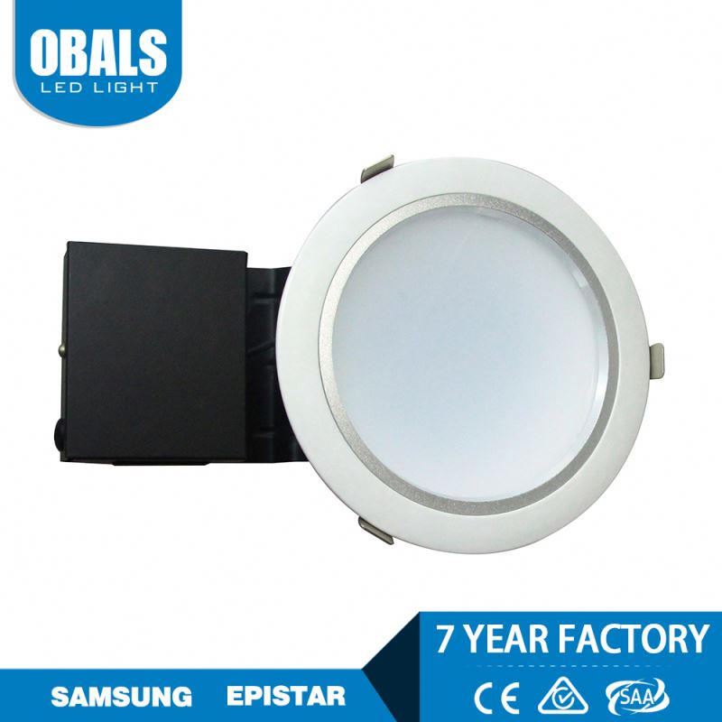 Korea samsung chip trimless dimmable spot recessed waterproof led downlights