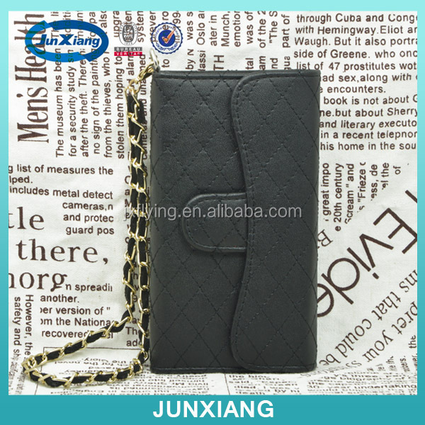 pu mobile phone case lady wallet phone case leather cell phone case for iphone5