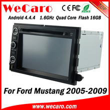 Wecaro WC-FU7302 Android 4.4.4 car dvd touch screen for ford mustang radio android 2005 - 2009 mirror link