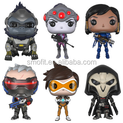 Fashion Overwatch Funko pop 10cm PVC Action Figure for Christmas gifts